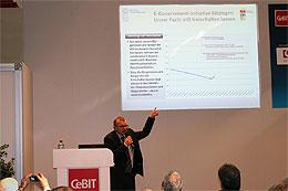 Vorschaufoto zu dem Artikel: E-Government-Initiative auf der CeBIT 2013