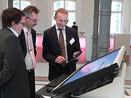 Foto vom Innovation Day 2010 der Deutschen Telekom