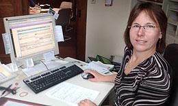 Frau Ebert der Verwaltungsgemeinschaft Marktbreit ist von SiXFORM überzeugt