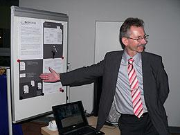 Foto vom Unternehmerabend im TIZ Ansbach 2010