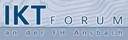 Logo des IKT Forum an der Hochschule Ansbach